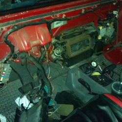 Replacing the Jeep's heater core